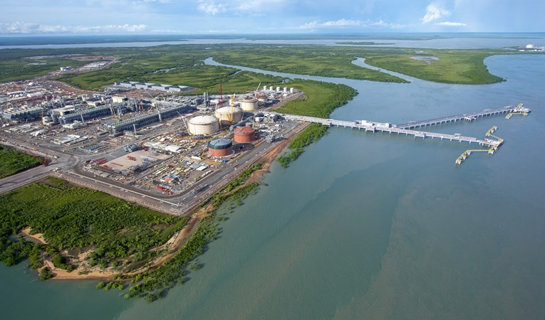 Ichthys LNG Project onshore facilities Western Australia