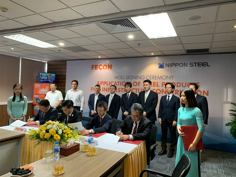FECON and Nippon Steel 1